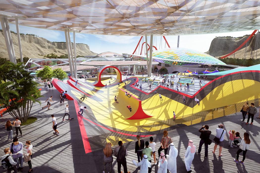 Bau-Updates für Qiddiya Entertainment City